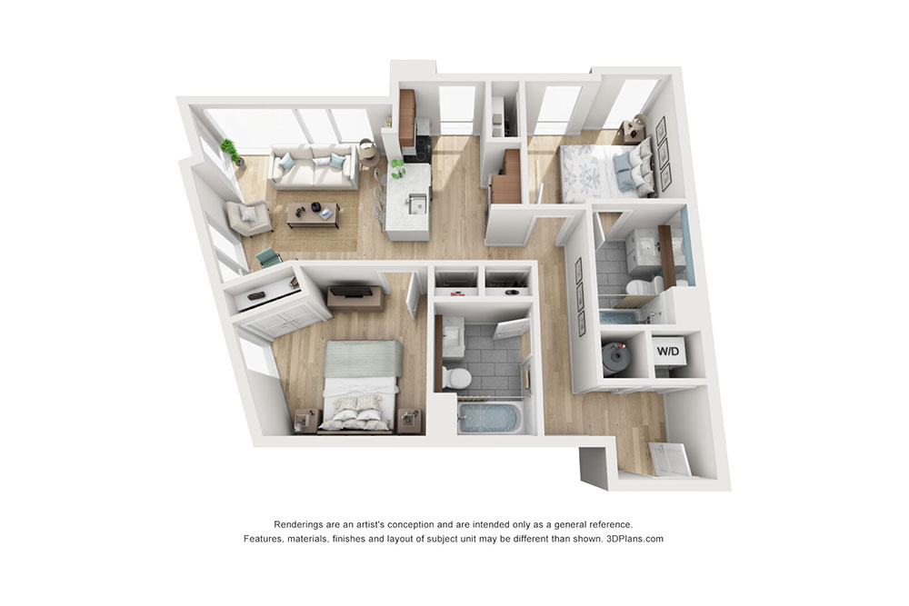 2 Bedroom A image