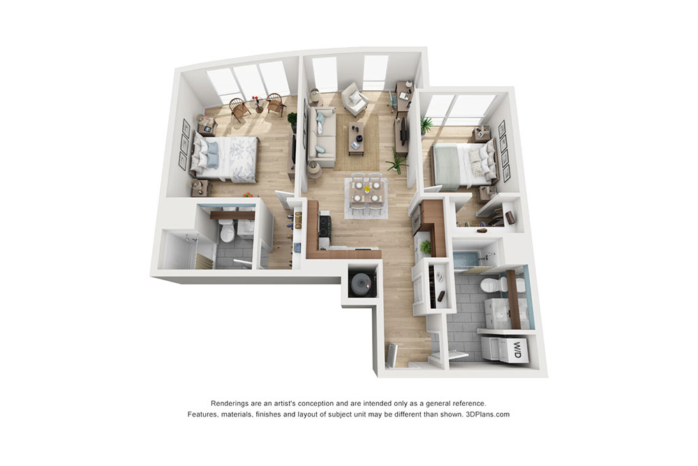 2 Bedroom B image