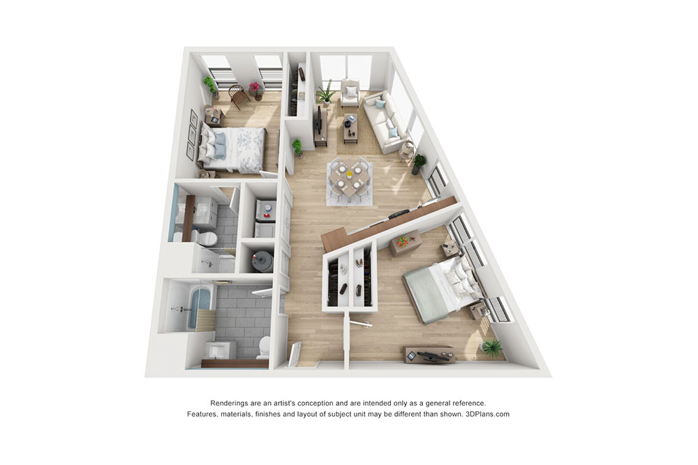 2 Bedroom C image