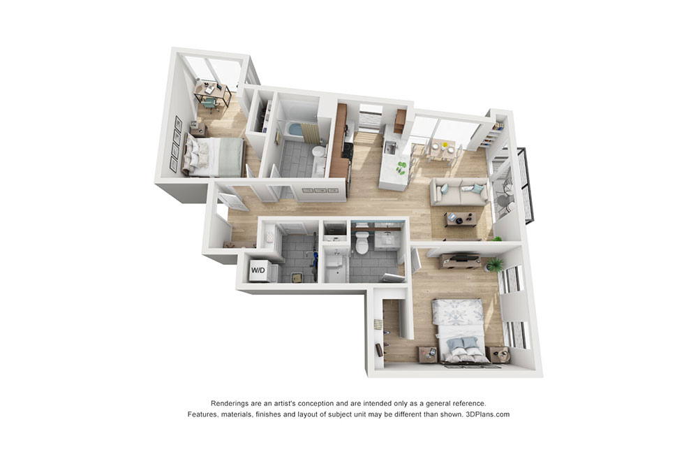 2 Bedroom E image